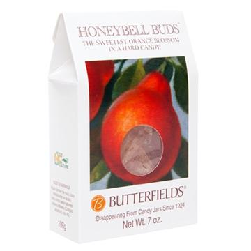 Honeybell orange hard candies